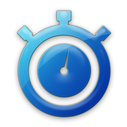 Clock icon small social media for small business how much time does