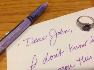 Social media dear John letter